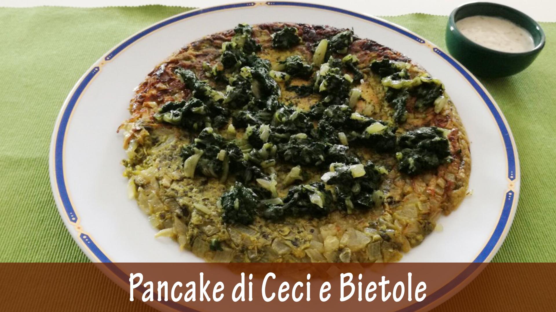 Pancake di Ceci e Bietole