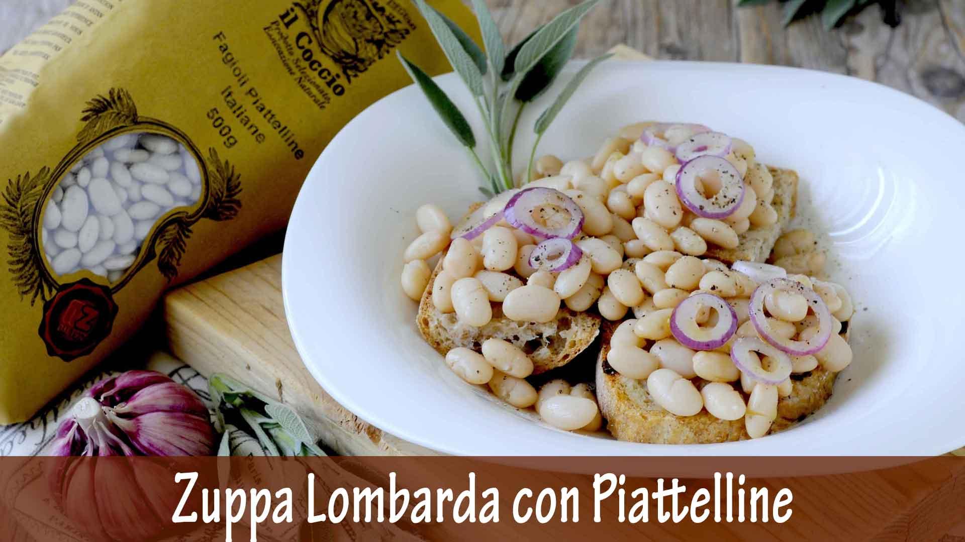 Zuppa Lombarda con Fagioli Piattelini