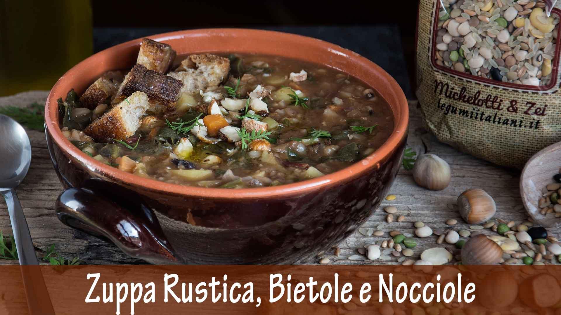 Zuppa Rustica con Bietole e Nocciole